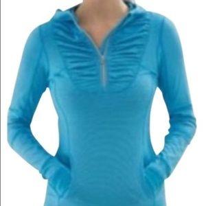 🍋Lululemon - Blue 1/4 Zip Sweater